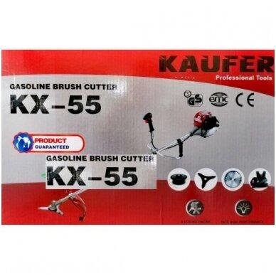 Keturtaktis trimeris Kaufer Kx-55 2