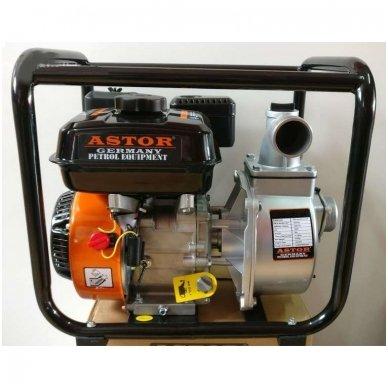 Benzininė vandens pompa WP30X