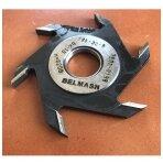 Diskinė griovelių freza BELMASH freza d8 (vidinis diametras standartinis d32) su kietmetalio galiukais