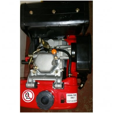 Dyzelinis variklis SUPTEC HM-178F be starterio 6aG 3