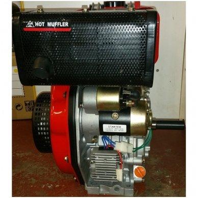 Dyzelinis variklis SUPTEC HM-178F be starterio 6aG 5