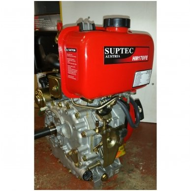 Dyzelinis variklis SUPTEC HM-178F be starterio 6aG 9