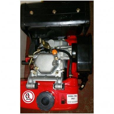 Dyzelinis variklis SUPTEC HM-178FE su starteriu 6aG 3