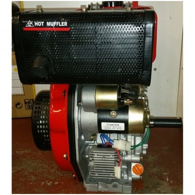 Dyzelinis variklis SUPTEC HM-178FE su starteriu 6aG 5