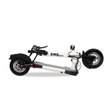 Elektrinis paspirtukas EMScooter Extreme XS-2 (Baltas) 4