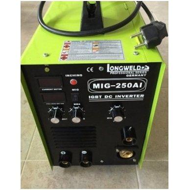 Suvirinimo pusautomatis Longweld MIG-250AI 250A 230V 4