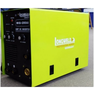 Suvirinimo pusautomatis Longweld MIG-250AI 250A 230V 5