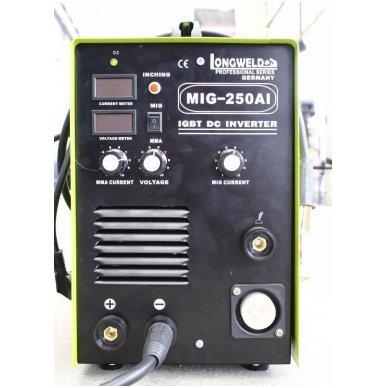 Suvirinimo pusautomatis Longweld MIG-250AI 250A 230V 6